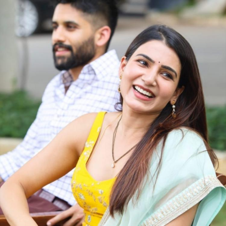 Samantha Akkineni asks fans 'My husband looks handsome no?' Naga Chaitanya has an EPIC reaction to it