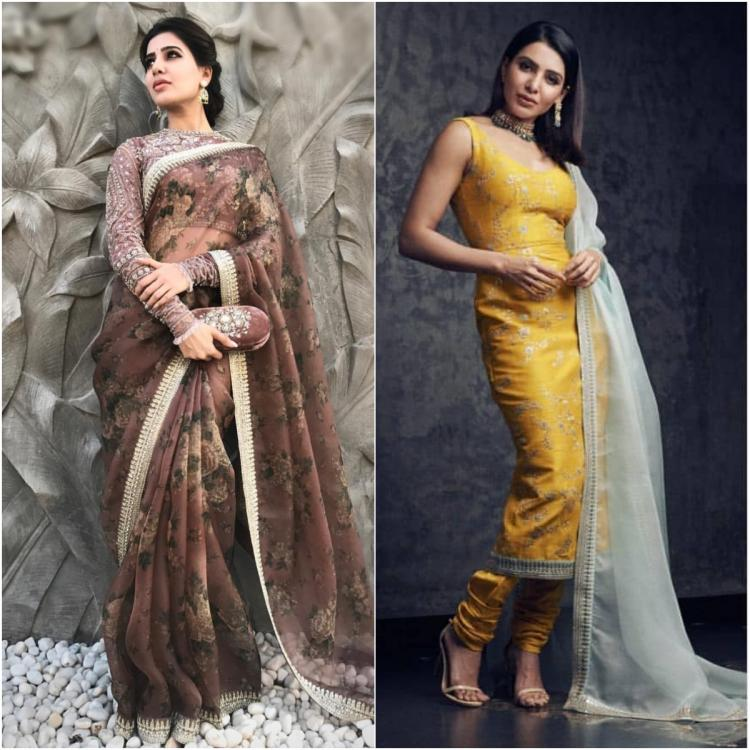 Samantha Akkineni proves she is a TOTAL Sabyasachi girl: 5 times she rocked the ace designer's outfits