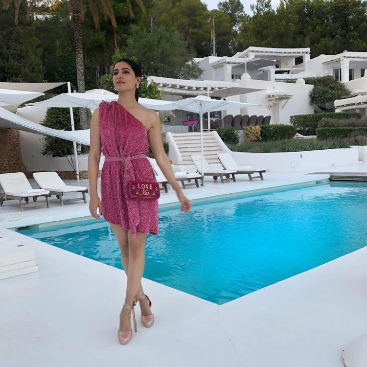 Samantha Akkineni's recent barbie pink look from her Ibiza holiday is worth whopping Rs 2 Lakh
