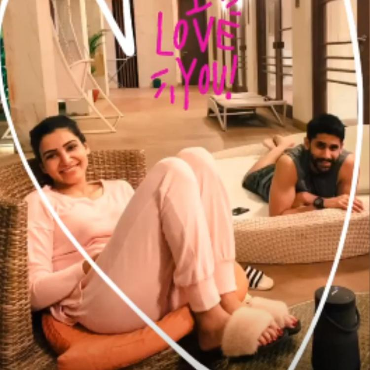 Samantha Akkineni and Naga Chaitanya chilling together in their pajamas is true couple goals