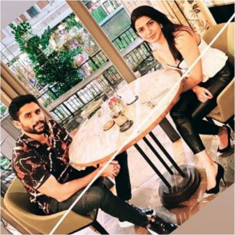 Samantha Akkineni shares an adorable picture with hubby Naga Chaitanya as they holiday in Singapore