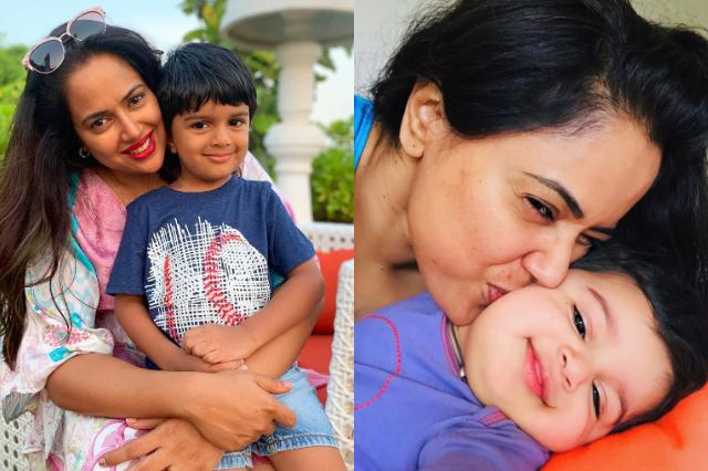 Here's what Sameera Reddy thinks about kids anxiety and why you should talk to your child too