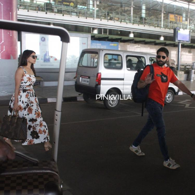 PHOTOS: Samantha Akkineni & Naga Chaitanya make heads turns as they get spotted at the airport