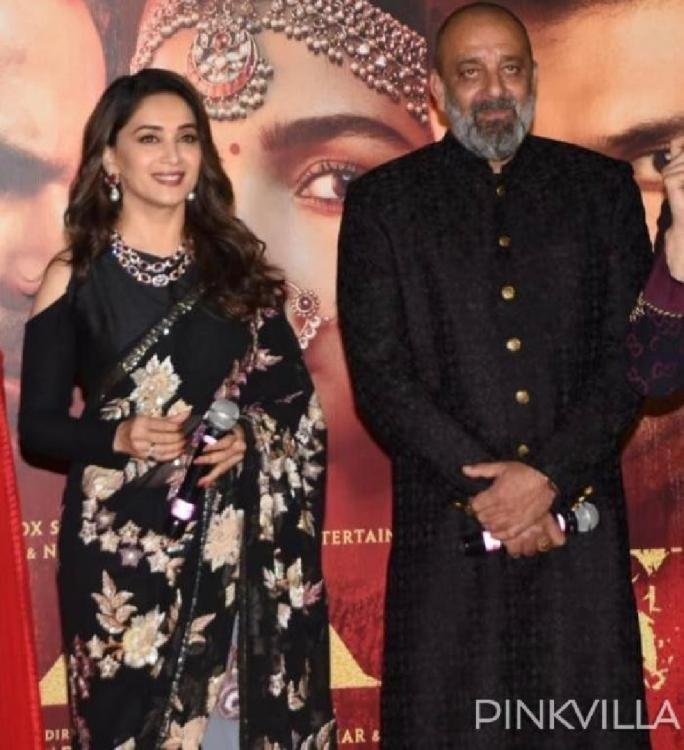 Madhuri Dixit & Sanjay Dutt were addressing each other as Sir & Ma'am at trailer launch of Kalank; Here's why