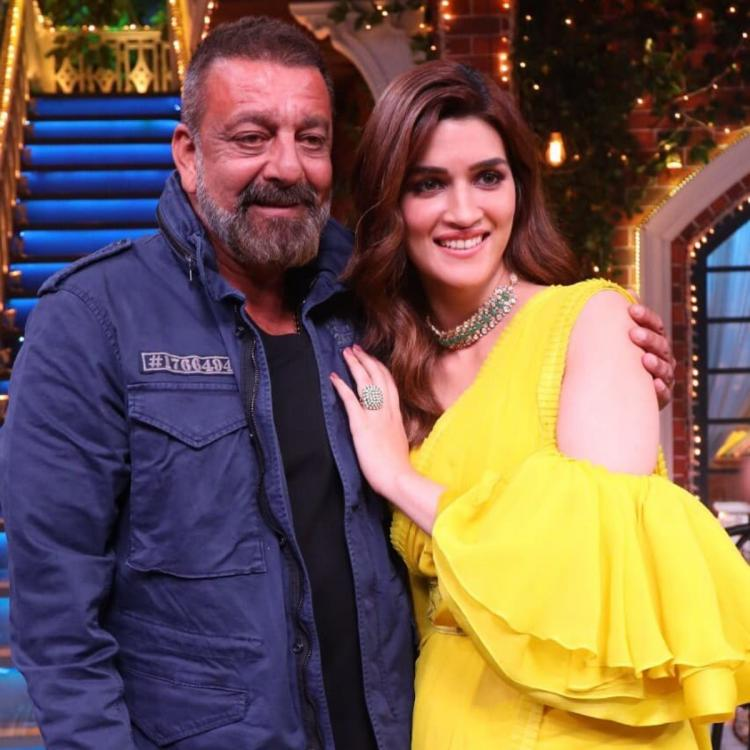 Sanjay Dutt on his Panipat co star Kriti Sanon: She could easily be my 309th girlfriend