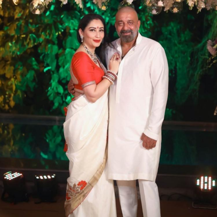 Sanjay Dutt wishes Maanayata Dutt on their wedding anniversary; Says 'Don't know what I would do without you'
