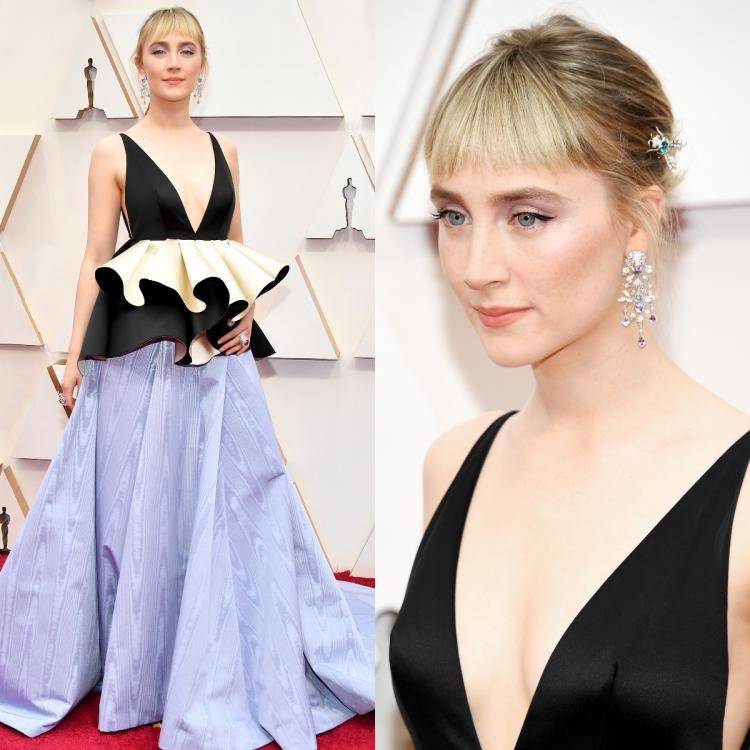 Oscars 2020: Saoirse Ronan in a Gucci gown subtly sides with sustainability on the red carpet
