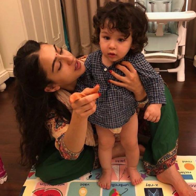 Sara Ali Khan's birthday wish for 'cutiepie' Taimur Ali Khan will warm the cockles of your heart; See Pics