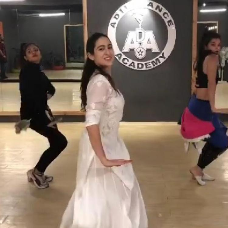 Sara Ali Khan dancing to Sweetheart from Kedarnath in a throwback rehearsal video will beat your Monday blues