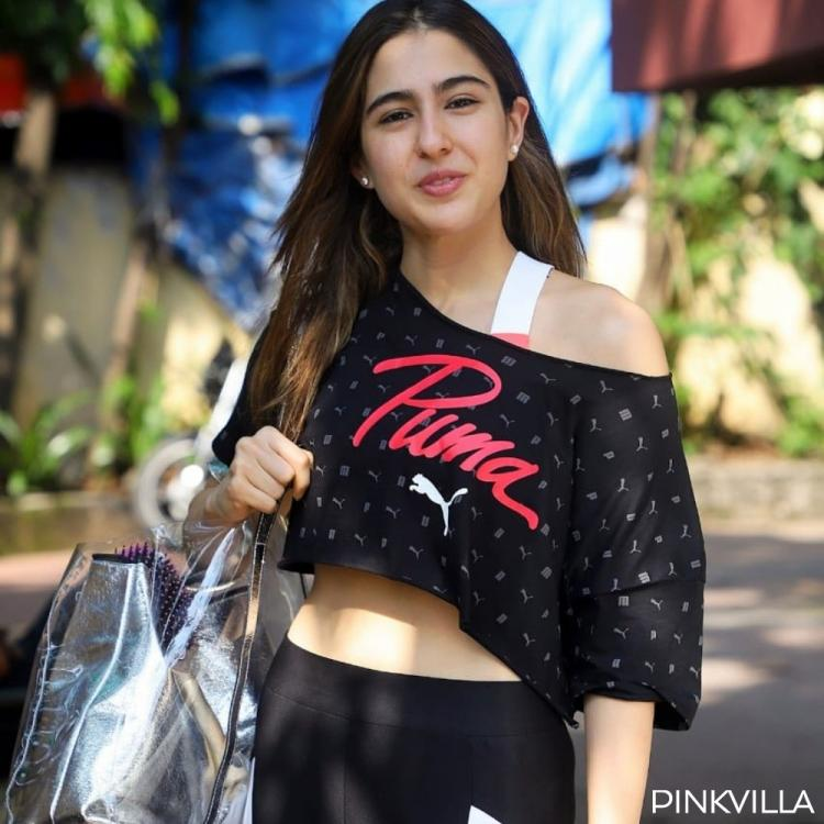 PHOTOS: Sara Ali Khan's beautiful smile will bewitch you as she makes her way to gymming