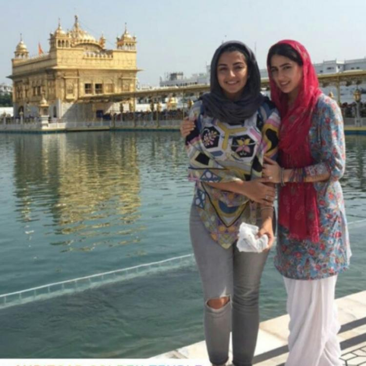 Sara Ali Khan shares a throwback photo from her visit to Golden Temple and wishes fans on Guru Nanak Jayanti
