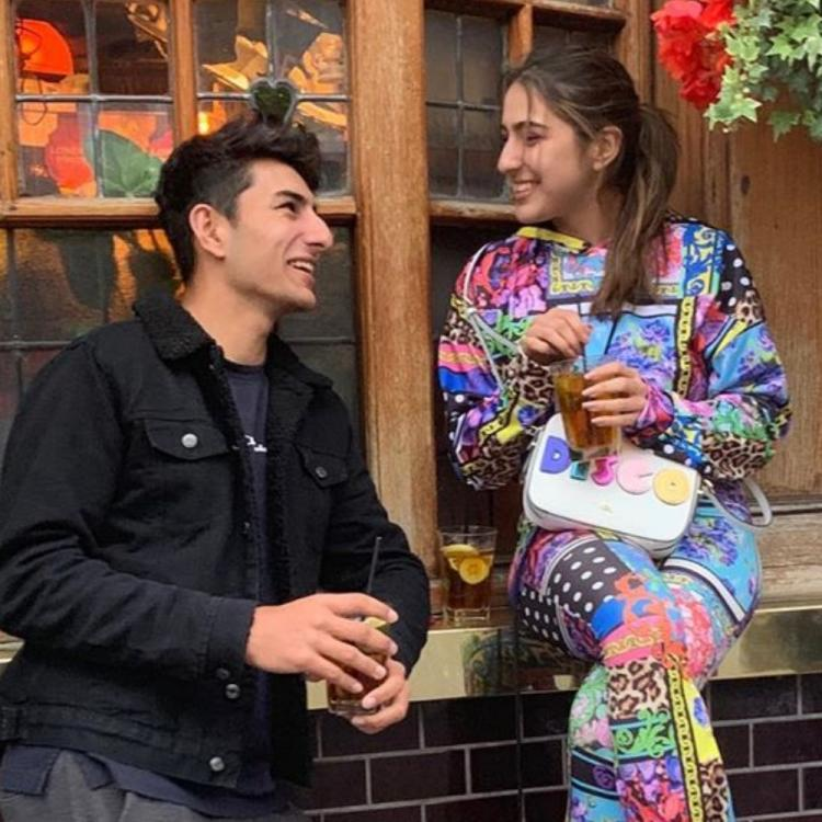 Sara Ali Khan left awestruck by brother Ibrahim Ali Khan's monochrome photos is every proud sister ever