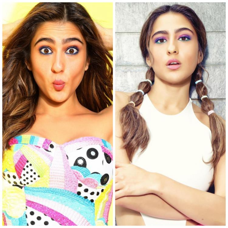 5 times Sara Ali Khan's quirky, OTT makeup and beauty looks stole the show