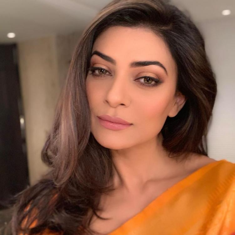 Sushmita Sen shows us how to twirl in a saree & reminds us of Chandni from Main Hoon Na; WATCH