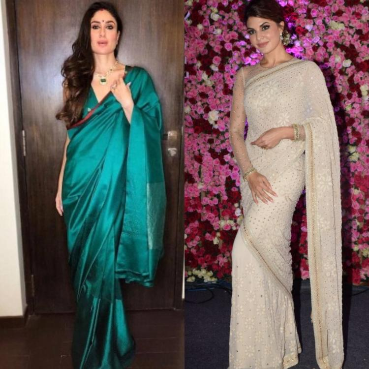#SareeTwitter: Kareena Kapoor Khan to Jacqueline Fernandez, take a look at the actresses who slayed in a saree
