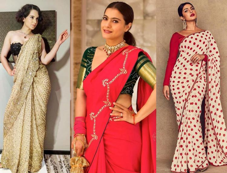 Goede Best Saree Blouse Designs: THESE saree blouses are a must have for JY-92