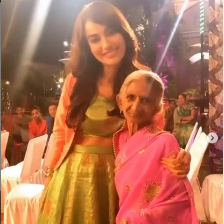 Naagin 3 actress Surbhi Jyoti's sweet gesture towards an elderly lady is sure to melt your hearts; WATCH Video