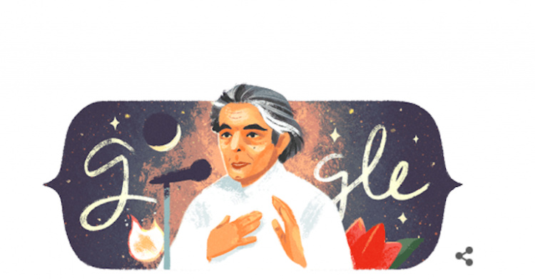 Kaifi Azmi Birth Anniversary: Google Doodle pays tribute to late Urdu poet; Check it out
