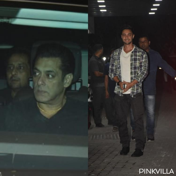 PHOTOS: Salman Khan, Arpita Sharma, Lulia Vantur & others arrive at Helen's birthday bash