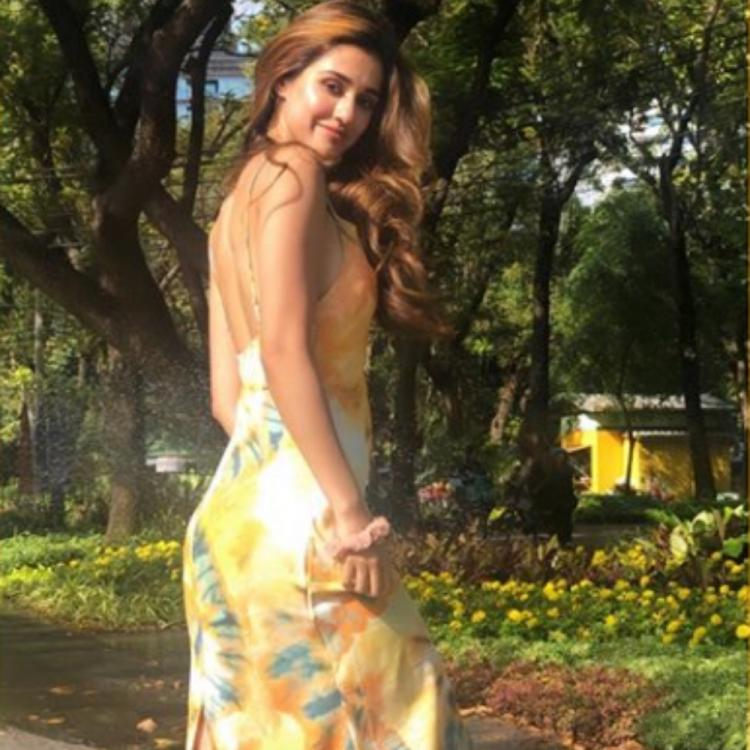 Disha Patani's latest sun kissed PICS are a visual treat as she poses at a picturesque location; Take a look