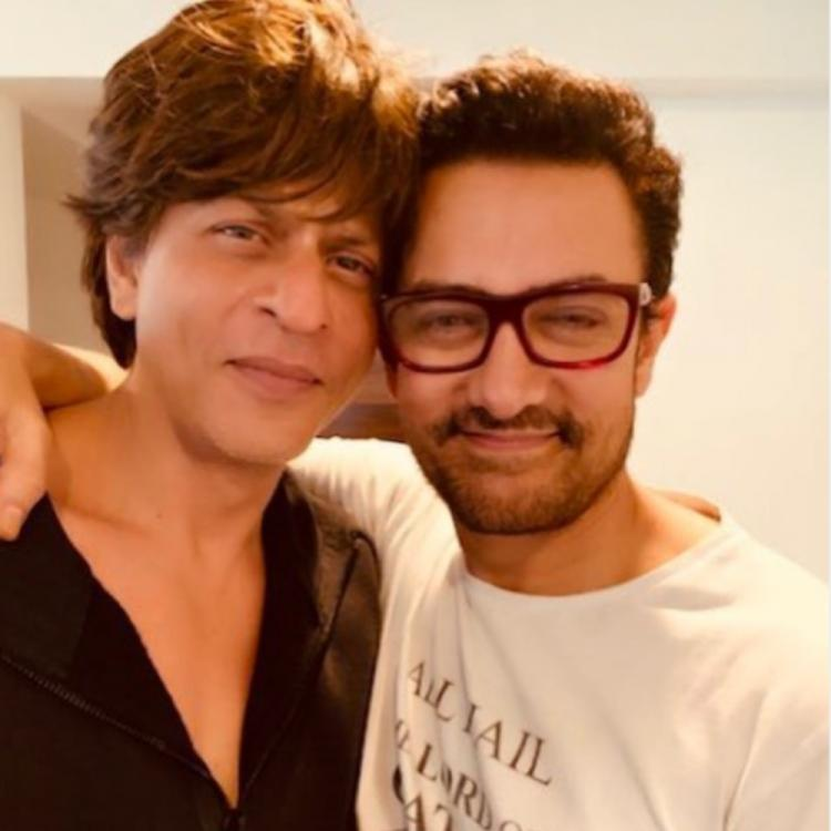 Shah Rukh Khan announces the collaboration of his production house with Aamir Khan's Laal Singh Chaddha