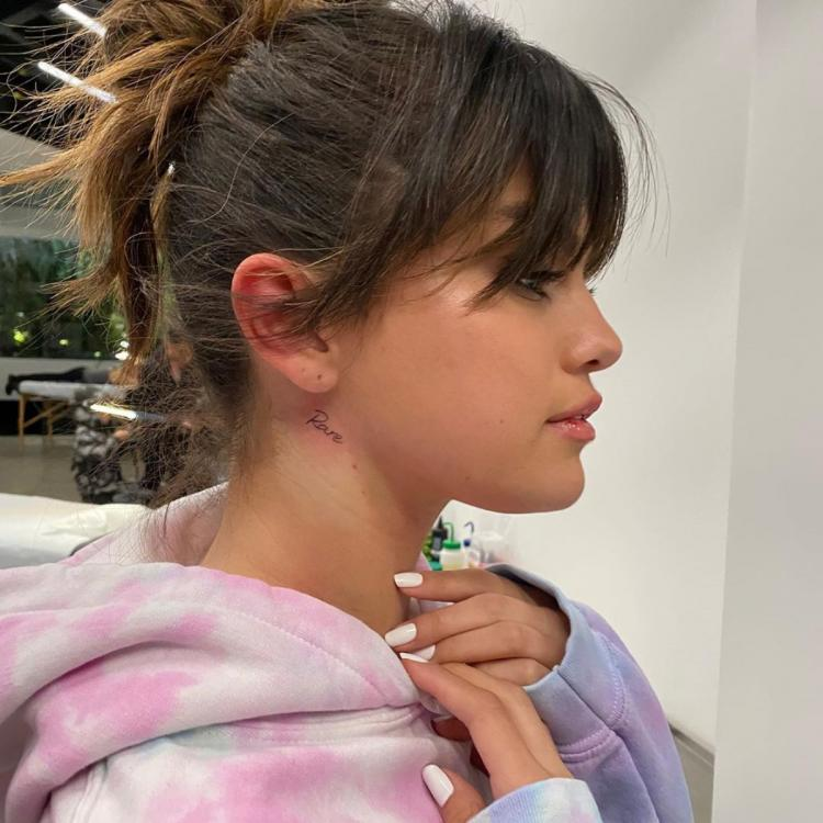 PHOTO: Selena Gomez gets inked again; Flaunts a new 'Rare' tattoo and fans are loving it