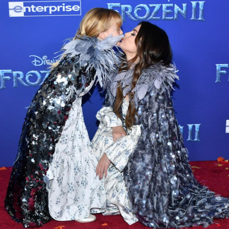 Selena Gomez confesses she was SUPER protective of her little sister on the Frozen 2 premiere red carpet