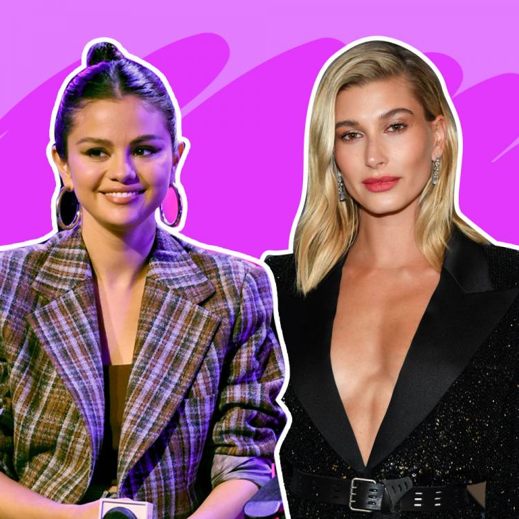 Selena Gomez,Hailey Bieber,Hollywood