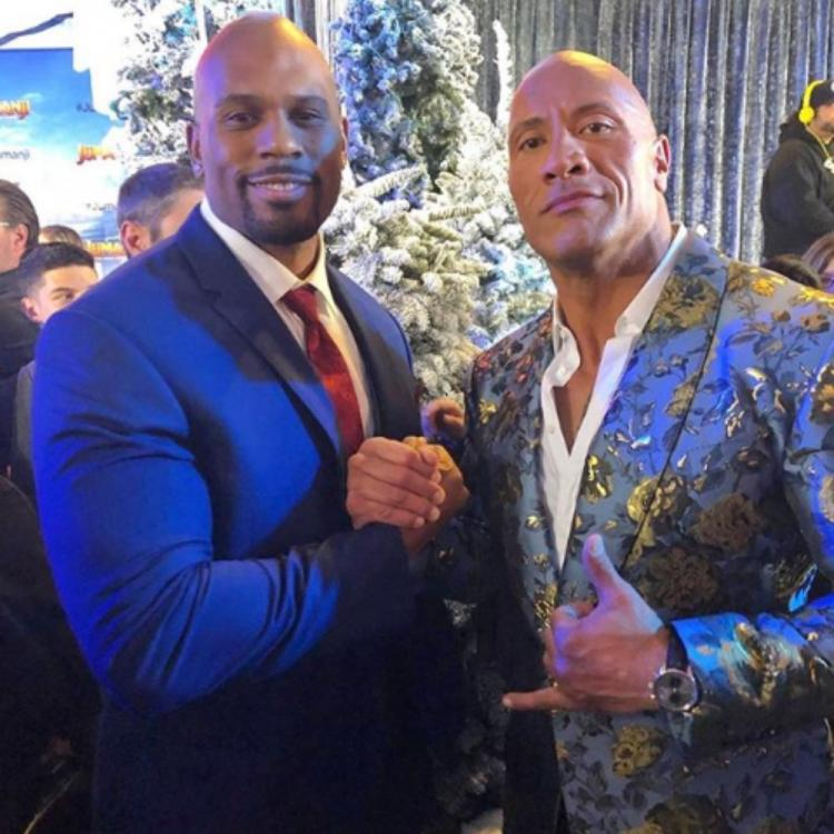 WWE News: Dwayne Johnson mourns Shad Gaspard's death; Talks about how the former wrestler saved his son's life