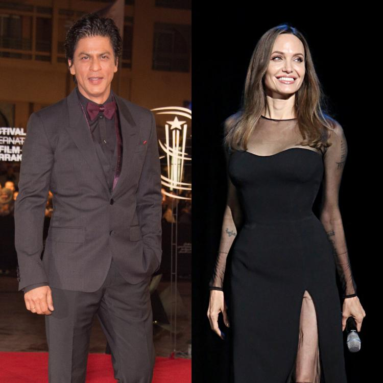 Throwback Tuesday: Have you seen THIS video of Angelina Jolie sharing the stage with Shah Rukh Khan?
