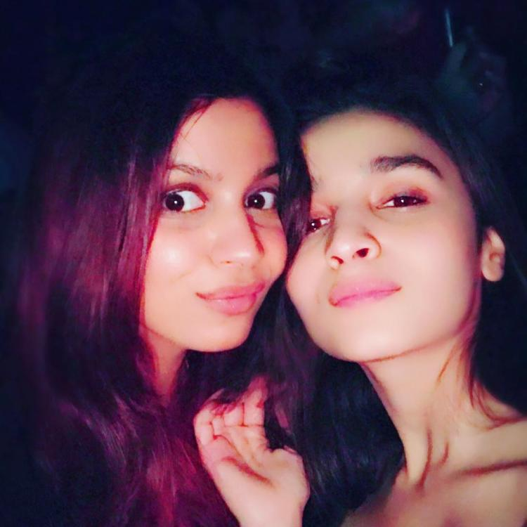 Alia Bhatt's throwback video shared by sister Shaheen Bhatt is all about sibling love; watch