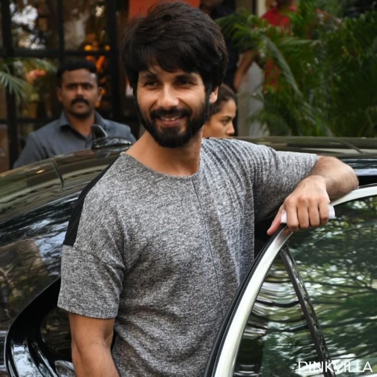 PHOTOS: Shahid Kapoor makes our hearts skip a beat with his cute smile as he gets papped outside gym