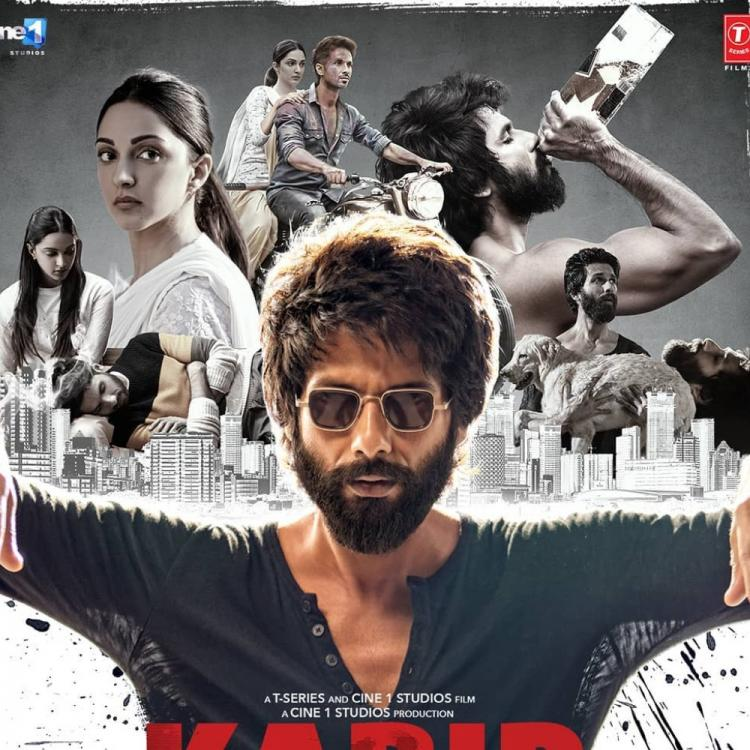 Shahid Kapoor goes from being Kiara Advani's obsessed lover to an alcoholic in the new poster of Kabir Singh