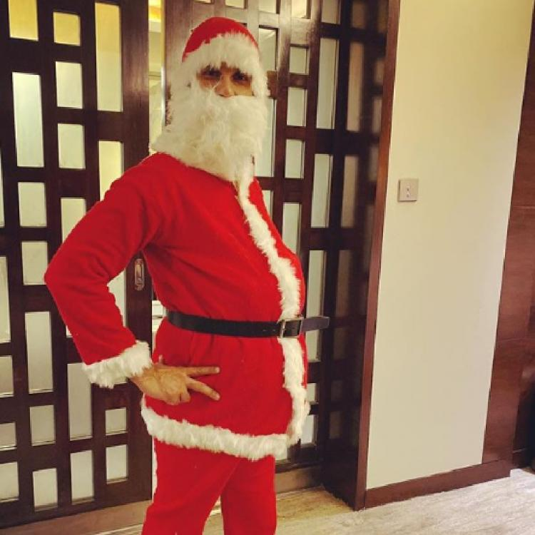 Shahid Kapoor channels his inner Santa Claus on Christmas for kids but Mira Rajput's caption steals the show