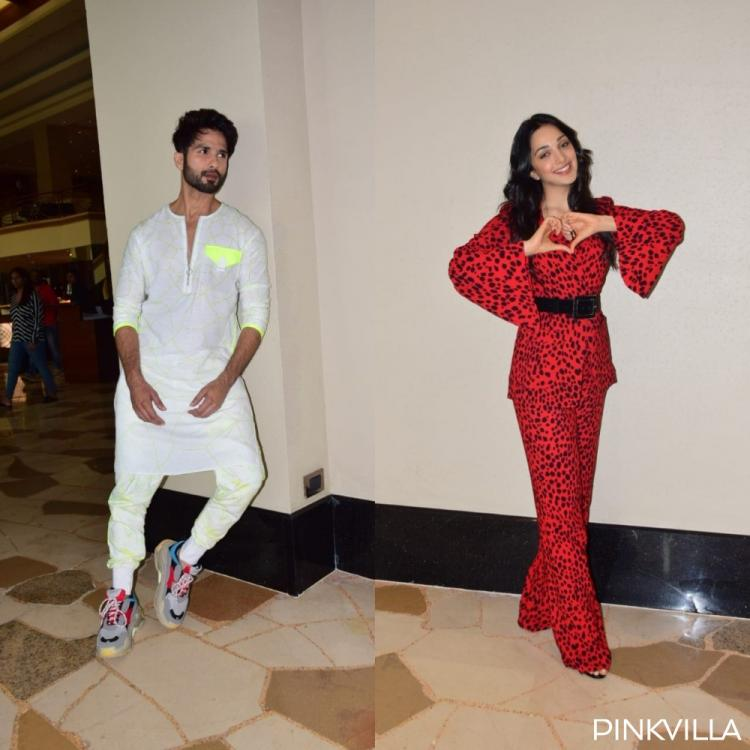 PHOTOS: Shahid Kapoor and Kiara Advani glam it up for Kabir Singh promotions