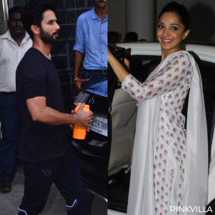 PHOTOS: Kabir Singh actors Shahid Kapoor and Kiara Advani go out and about in the city