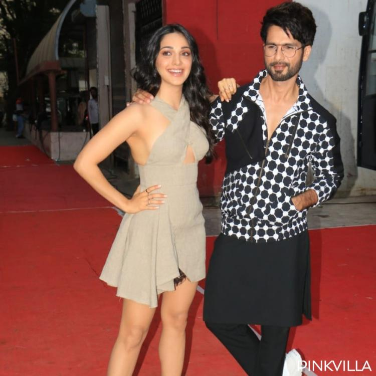Photos: Kabir Singh duo Shahid Kapoor and Kiara Advani are all geared up for Neha Dhupia's chat show