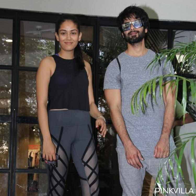 PHOTOS: Shahid Kapoor and Mira Rajput look uber stylish as they sweat out in the gym together