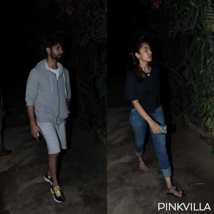 PHOTOS: Shahid Kapoor and Mira Rajput take to casuals as they step out in the city for the weekend