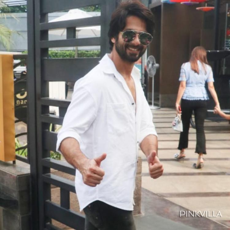 PHOTOS: Shahid Kapoor looks rugged and handsome as ever as he steps out in stylish casuals