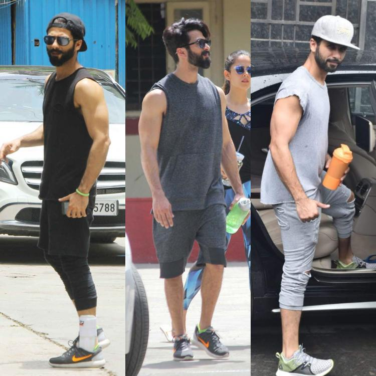 shahid kapoor gym photo, shahid kapoor fitness, shahid kapoor gym pic