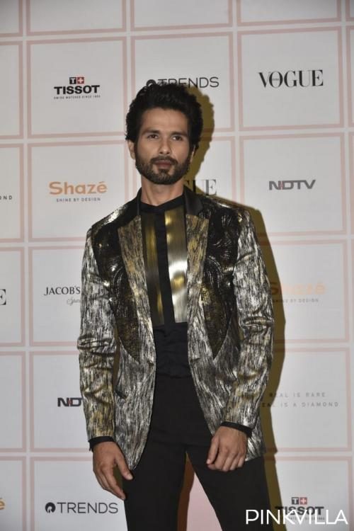 PHOTOS: Shahid Kapoor easily qualifies for the best dressed as he attends the Vogue Beauty Awards 2019