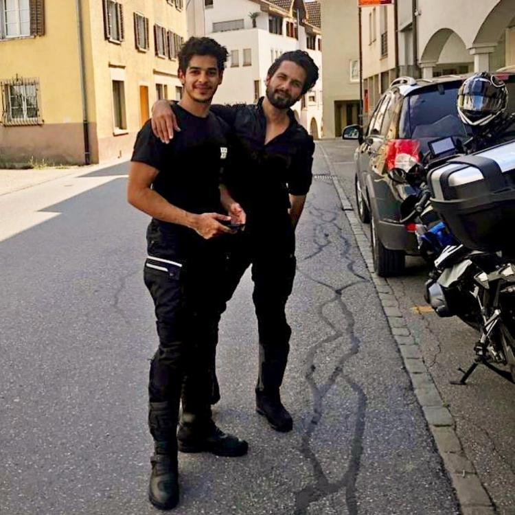 Shahid Kapoor's birthday wish for bro Ishaan Khatter speaks volumes about their sibling bond; See Pic