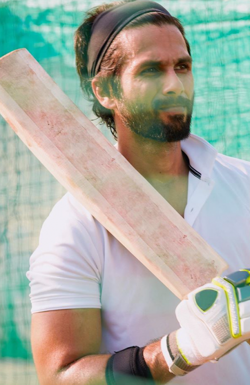 Shahid Kapoor to train under cricketer Indian cricketer Rohit Sharma's coach for Jersey