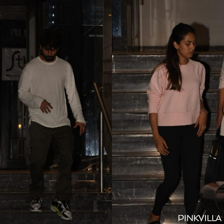 PHOTOS: Shahid Kapoor and wife Mira Rajput enjoy a dinner date in the city