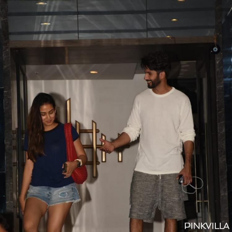 PHOTOS: Shahid Kapoor and wife Mira Rajput can't stop smiling after their dinner date