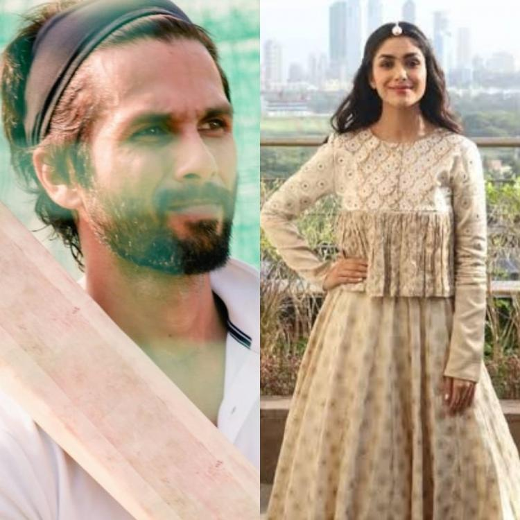 Shahid Kapoor gets joined by Mrunal Thakur for Jersey; Actress REVEALS she was deeply impacted by the original