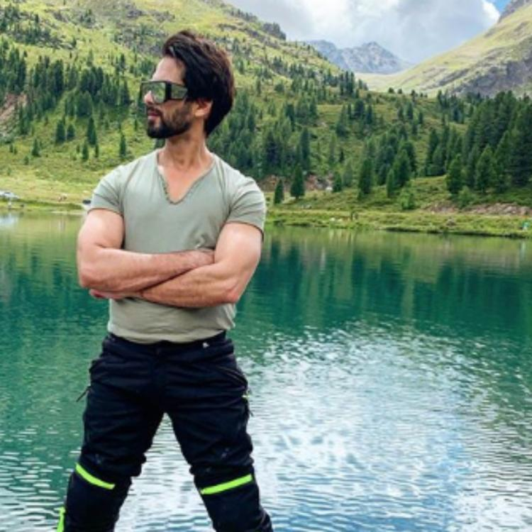 Shahid Kapoor's throwback photo by the lake will make you want to take a trip right now; Check it out