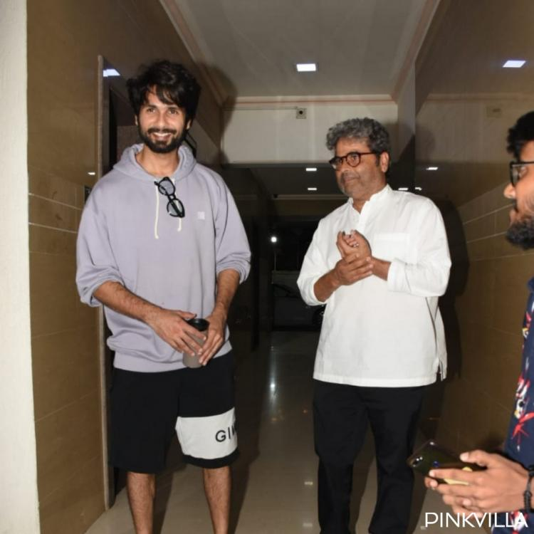 PHOTOS: Shahid Kapoor's meeting with Vishal Bhardwaj has fans wondering what is in store ahead