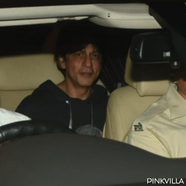 PHOTOS: Shah Rukh Khan spotted as he steps out of a dubbing studio in the wee hours